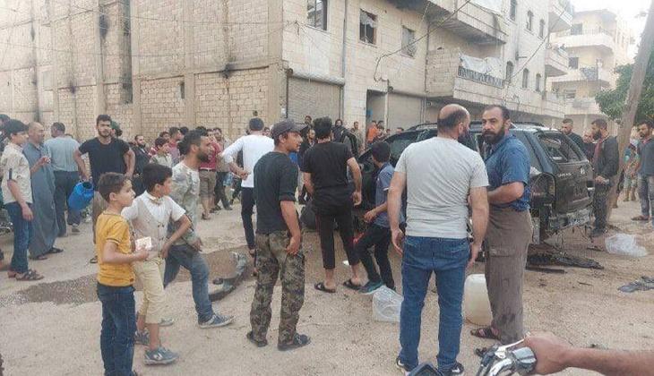 Afrin'de terör saldırısı! Çok sayıda çocuk yaralandı