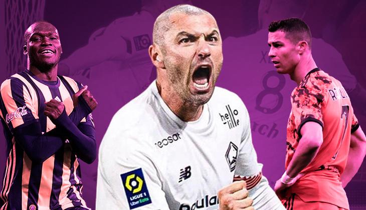 Burak Yılmaz, Fransa'yı fethediyor! Cristiano Ronaldo ve Moussa Sow'dan sonra tek...