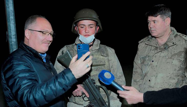 Cumhurbaşkanı Erdoğan'dan iftar yapan askerlere sürpriz telefon