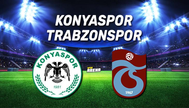 Canlı Anlatım İzle: Konyaspor Trabzonspor maçı