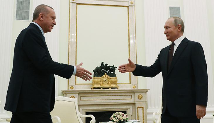 Son dakika haberi: Cumhurbaşkanı Erdoğan, Putin ile görüştü