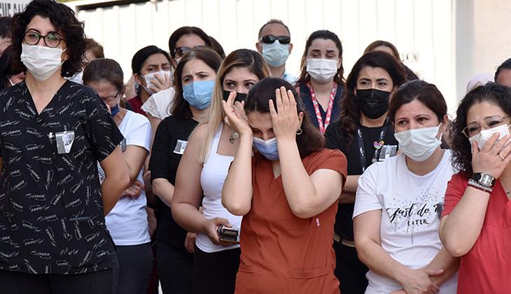 Antalya'da en acı veda! Gözyaşları sel oldu