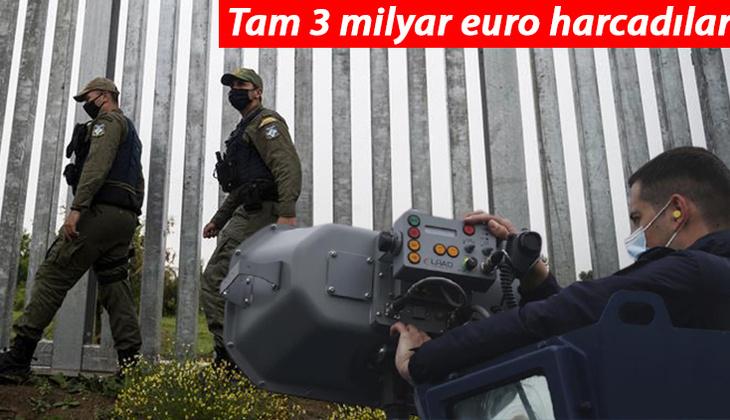 AB, göçmenlere karşı harekete geçti: Türkiye - Yunanistan sınırına dijital bariyer örüldü!