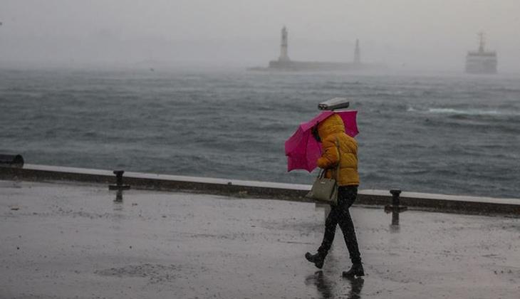 Son dakika: Meteoroloji'den İstanbul için sarı uyarı! Saat verildi
