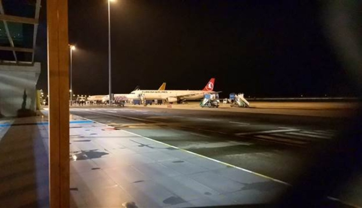 Ordu-Giresun Havalimanında uçağa bomba ihbarı