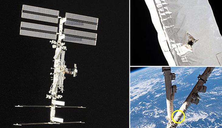 Felaket uzay istasyonunu teğet geçti!