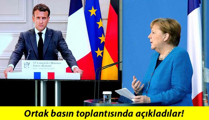 Almanya ve Fransa'dan ortak açıklama: Dikkat çeken Türkiye detayı!