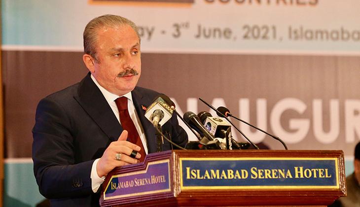 TBMM Başkanı Şentop'tan Pakistan'da Ekonomik İşbirliği Teşkilatı Parlamenter Asamblesi konferansında açıklama!