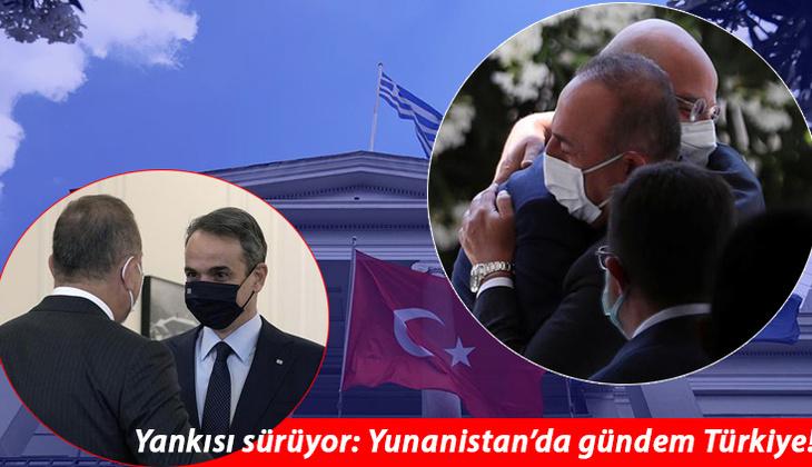 Dışişleri Bakanı Çavuşoğlu'nun ziyareti ses getirdi: Yunan basınında Türkiye manşetleri