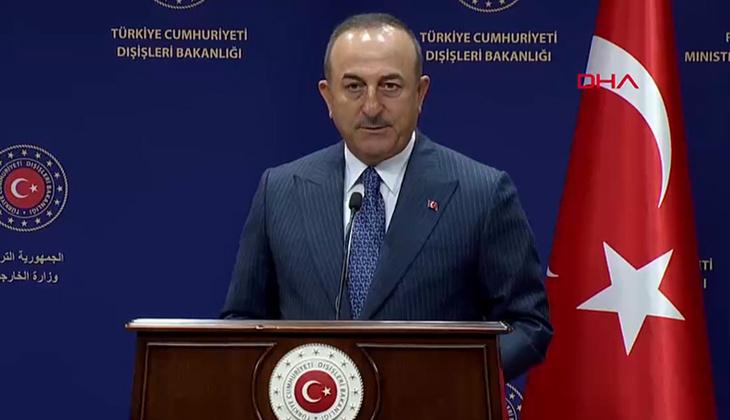 Son dakika: Bakan Çavuşoğlu'ndan İsrail açıklaması
