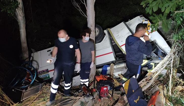 Denizli'de korkunç kaza! 3 ölü, 5 yaralı