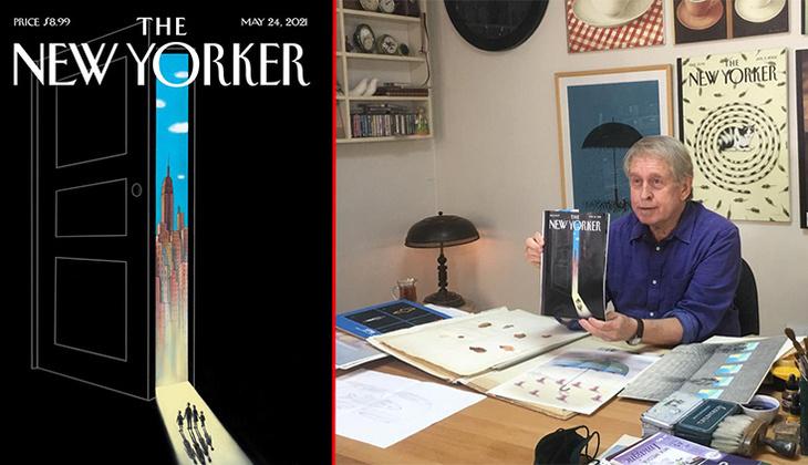 Pandemi etkisi kapağa yansıdı: Dünyaca ünlü dergide Türk sanatçının imzası!