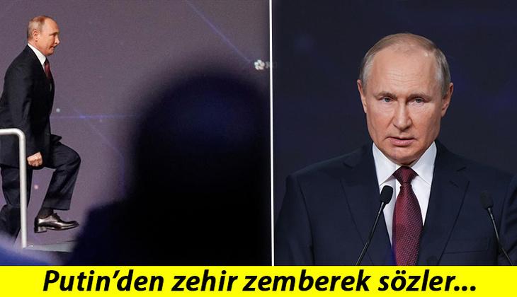 Son dakika: Putin'den ABD ve Avrupa'ya kritik mesajlar!