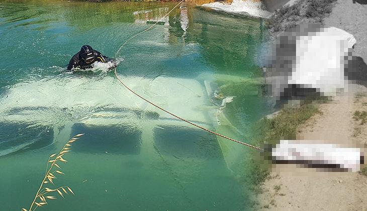 Adana'da feci kaza! Araç sulama kanalına uçtu, kahreden haber geldi