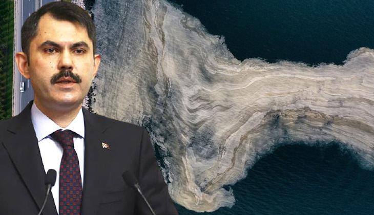 Marmara Denizi'ndeki müsilaj sorunu... Bakan Kurum: Yarın eylem planını paylaşacağız
