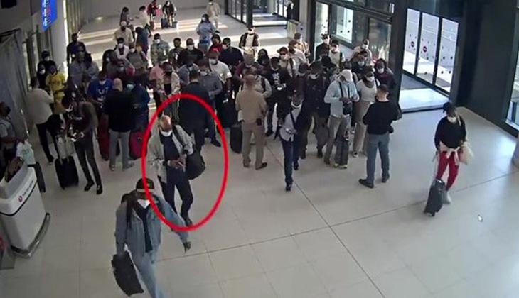 İstanbul Havalimanı'nda operasyon! Polis adım adım takip etti