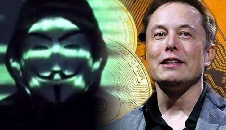 Ünlü hacker grubu Anonymous Elon Musk'ı tehdit etti