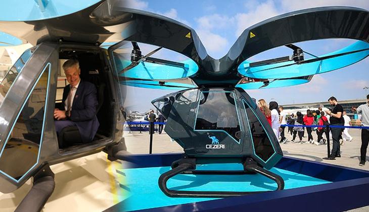 Letonyalı Bakan'dan ziyaret... Türkiye'nin ilk uçan arabasına büyük ilgi!
