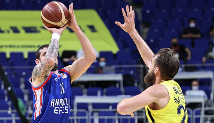 Son Dakika: Fenerbahçe Beko'yu deviren Anadolu Efes, Basketbol Süper Ligi'nde şampiyon oldu
