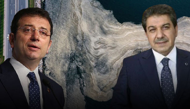 Marmara müsilaj belasıyla cebelleşirken İmamoğlu'na 'temel atmama' tepkisi
