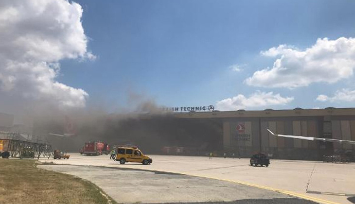 Atatürk Havalimanı'nda oksijen tüpü patladı! THY'den açıklama