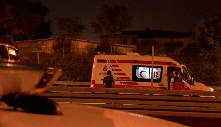 Sefaköy metrobüs durağında hareketli dakikalar!