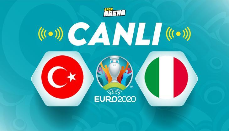 Canlı Anlatım İzle: Türkiye İtalya maçı (Milli Takım sahada)