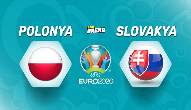 Canlı anlatım: Polonya - Slovakya maçı