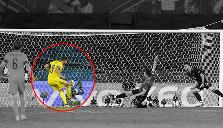 EURO 2020'deki İspanya - İsveç maçında Marcus Berg saç baş yoldurttu! Rekor...