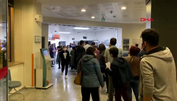 İş çıkışı hastanelere akın ettiler! Aşıya ilgi yoğun