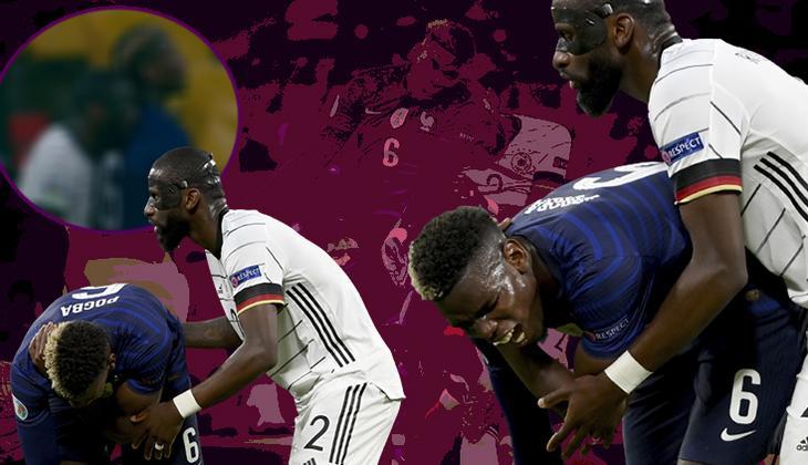 """EURO 2020'deki Fransa - Almanya maçına damga vuran """"ısırık"""" olayı!"""