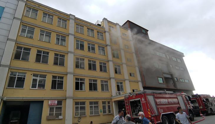 Çatalca'da imalathane yangını! Müdahale ediliyor