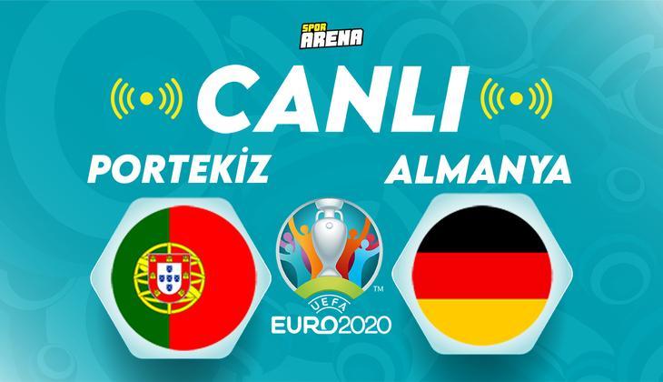 Canlı Anlatım: Portekiz Almanya (EURO 2020 maçı)
