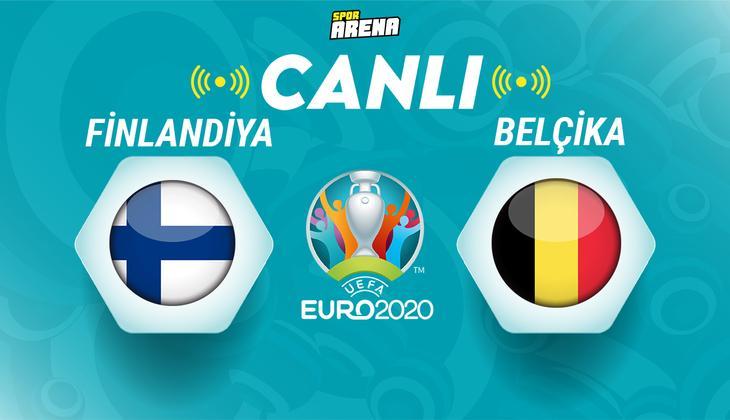 Canlı Anlatım: Finlandiya - Belçika maçı