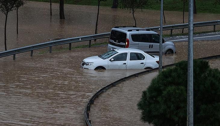 Son dakika... Su baskınında kalan otomobil sahipleri dikkat! Kaskoda muafiyet yok