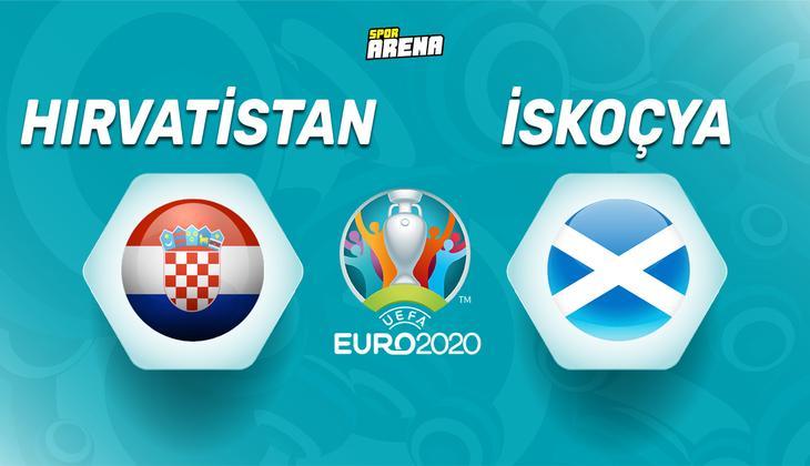 Canlı anlatım: Hırvatistan İskoçya maçı