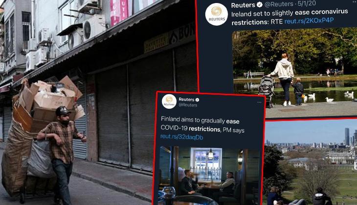 Reuters'ın Türkiye'ye ilişkin kullandığı fotoğrafa tepki yağıyor... Ahmet Hakan: Aşağılık bir manipülasyon