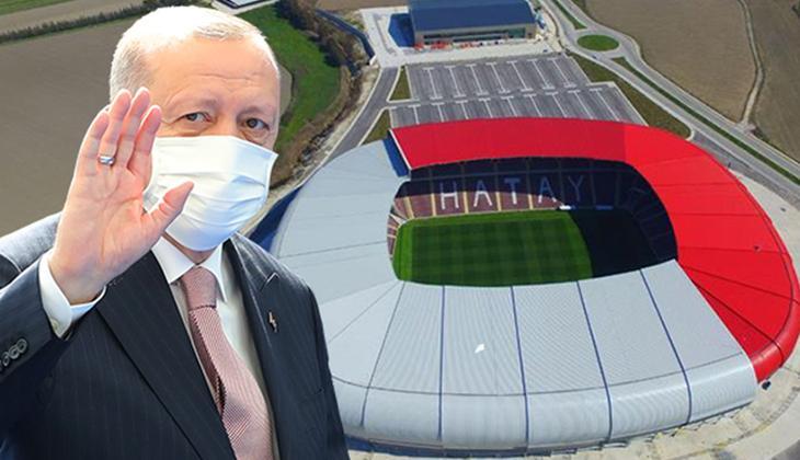 CANLI | Hatay ve Hatayspor yeni stadına kavuşuyor! Cumhurbaşkanı Erdoğan'dan önemli mesajlar...