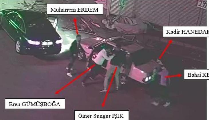 Ankara'da 'Yol vermeme cinayeti'nin görüntüsü ortaya çıktı