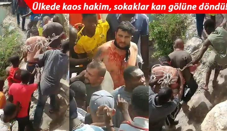 Haiti'yi karıştıran suikasta yönelik gözaltılar sürüyor... Ülkeden gelen fotoğraflar ise göreni dehşete düşürüyor!
