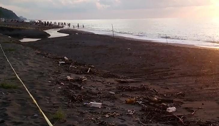 Düzce'de kıyıya Rus yapımı mayın tetikleyicisi vurdu
