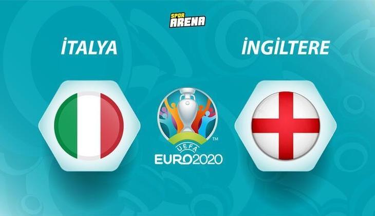 İtalya-İngiltere (EURO 2020 final maçı) maçı saat kaçta, hangi kanalda? İşte EURO 2020 final maçının detayları
