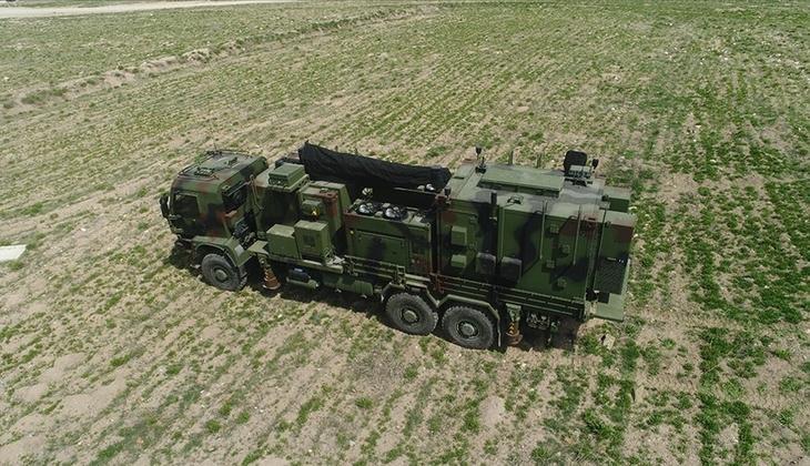 Yeni elektronik harp gücü... Türk Silahlı Kuvvetleri'ne teslim edildi