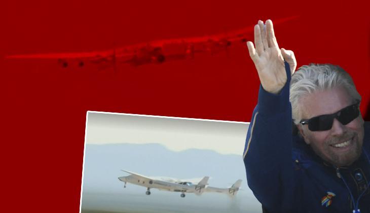 Dünyanın gözü bu test uçuşunda... Richard Branson uzaya giden ilk milyarder olabilecek mi?