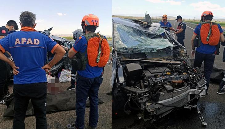 Korkunç kaza! Karı-kocayı ölüm ayırdı