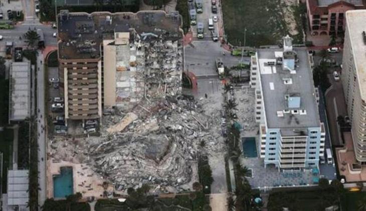 Miami'de çöken binada bilanço ağırlaşıyor!