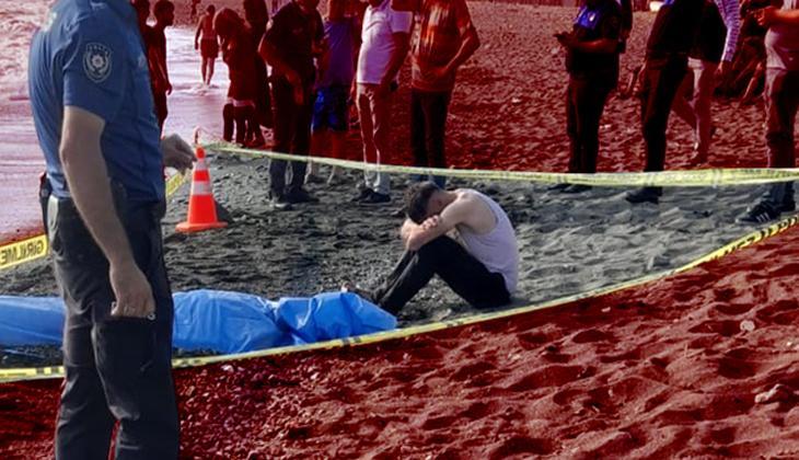 Denize giren iki arkadaştan biri boğuldu, diğeri kayboldu