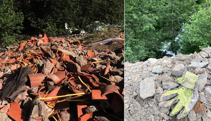 Sümela Manastırı'nda restorasyon atıkları dereye dökülmüş! İnceleme başlatıldı, tepki yağdı: 'İnanılır gibi değil'