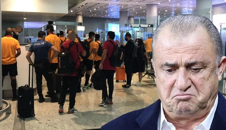 Son Dakika Haberi... Olympiakos ile hazırlık maçı oynamak için Yunanistan'a giden Galatasaray'a şok tavır! İstanbul'a dönüş...