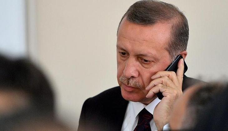 Cumhurbaşkanı Erdoğan, İsrail Devlet Başkanı Yitzak Hertzog ile görüştü